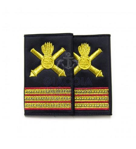 Tubolari Ricamati Maresciallo Marina Militare