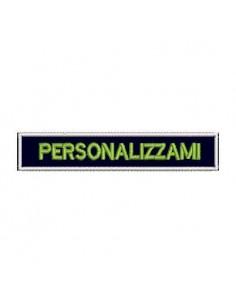 Patch Nominativa Con Testo Personalizzato