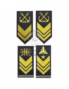 Gradi Ricamati Sottufficiali Marina Militare Per Ordinaria Invernale (coppia)
