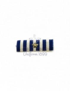 Nastrino/medaglia Al Merito Di Lungo Comando Marina Militare