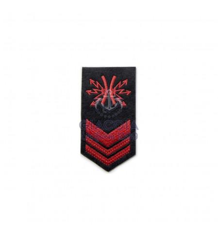 Gradi Ricamati Sottocapo No Spe Uniforme Invernale Marina Militare (coppia)